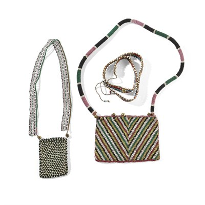 Lot 79-A COLLECTION OF ZULU BEADWORK