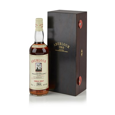 Lot 600-ABERLOUR VINTAGE 1964 25 YEAR OLD