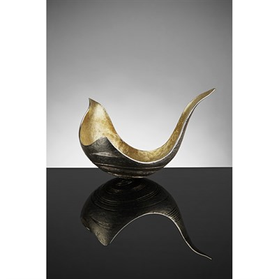 Lot 407 - A contemporary silver bowl, Malcolm Appleby