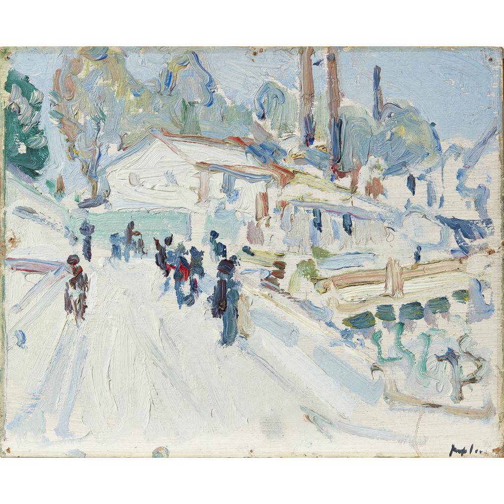 Lot 110 - SAMUEL JOHN PEPLOE R.S.A. (SCOTTISH 1871-1935)