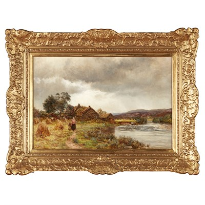 Lot 28-JAMES DOCHARTY A.R.S.A. (SCOTTISH 1829-1878)