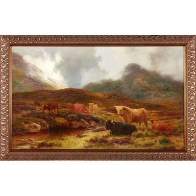 Lot 40 - LOUIS BOSWORTH HURT (BRITISH 1856-1929)