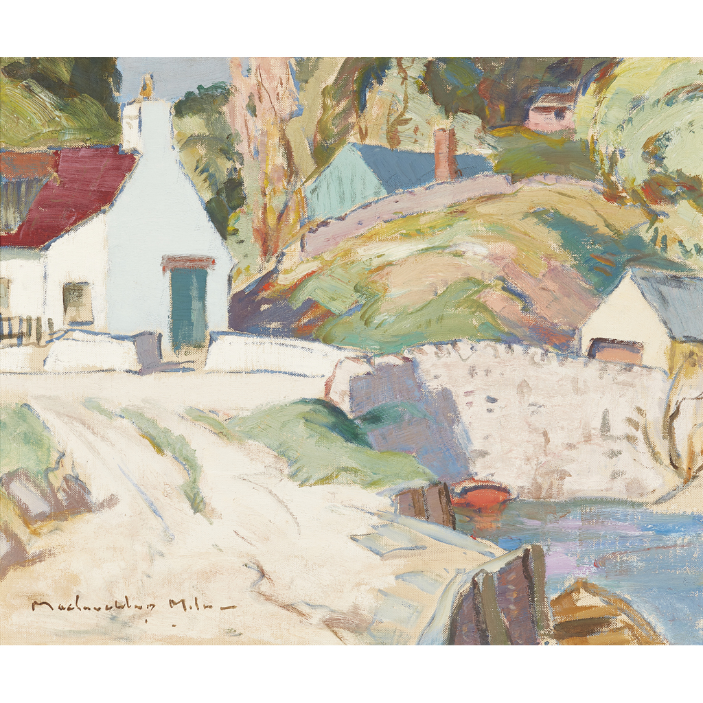 Lot 75 - JOHN MACLAUCHLAN MILNE  R.S.A. (SCOTTISH 1886-1957)