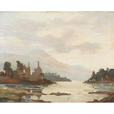 Lot 63 - HUGH E. RIDGE (SCOTTISH 1899-1976)