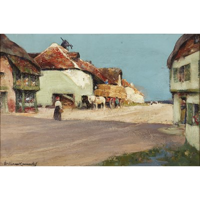 Lot 4-WILLIAM KENNEDY (SCOTTISH 1859-1918)