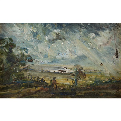 Lot 19-MANNER OF JOHN CONSTABLE (1776-1837)