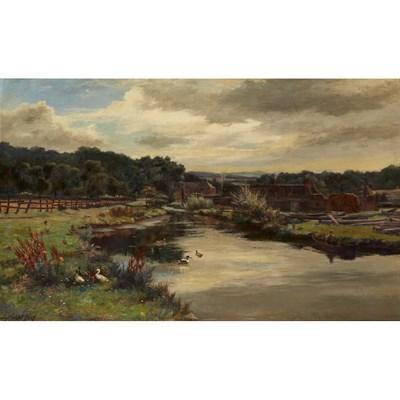 Lot 23-HUGH ALLAN (SCOTTISH 1862-1909)
