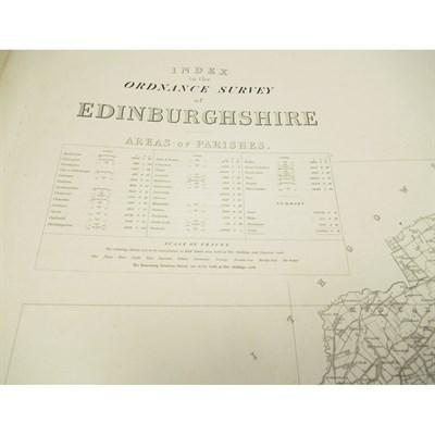 Lot 46-ORDNANCE SURVEY OF EDINBURGHSHIRE