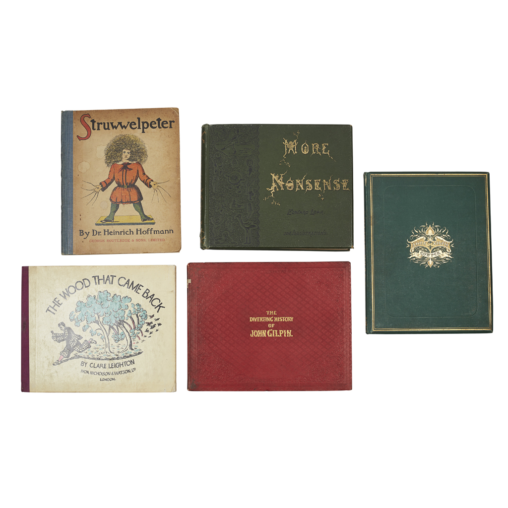 Lot 55 - CHILDREN'S AND ILLUSTRATED BOOKS