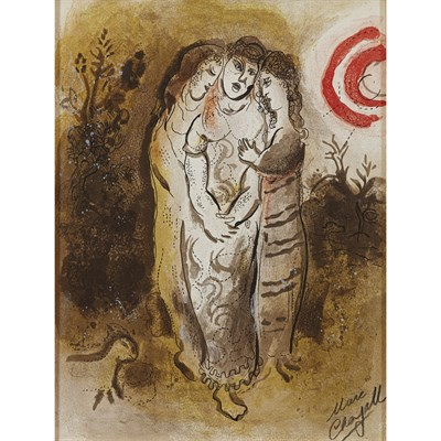 Lot 19-MARC CHAGALL (RUSSIAN 1887-1985)