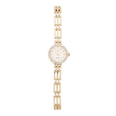 Lot 329 - A lady's 9ct gold diamond set wrist watch, Rotary