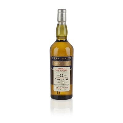 Lot 607-DAILUAINE 1973 22 YEAR OLD - RARE MALTS US IMPORT