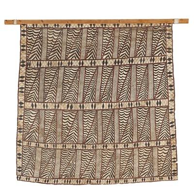 Lot 71 - SAMOAN TAPA CLOTH, SIAPO MAMANU