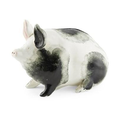 Lot 103 - A SMALL WEMYSS WARE PIG