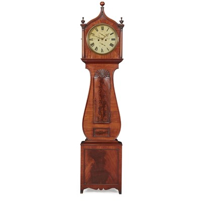 Lot 21-A SCOTTISH GEORGE III MAHOGANY LONGCASE CLOCK BY CHARLES SHEDDEN, PERTH