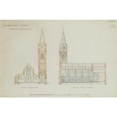 Lot 16-WILLIAM BUTTERFIELD (1814-1900)