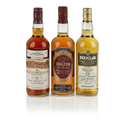 Lot 613-BRAEVAL 2001 13 YEAR OLD - DOUGLAS OF DRUMLANRIG