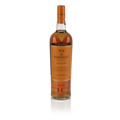 Lot 614-THE MACALLAN EDITION NO.2