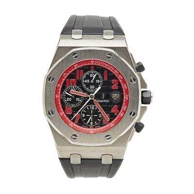 Lot 331 - A gentleman's limited edition titanium cased chronograph, Audemars Piguet
