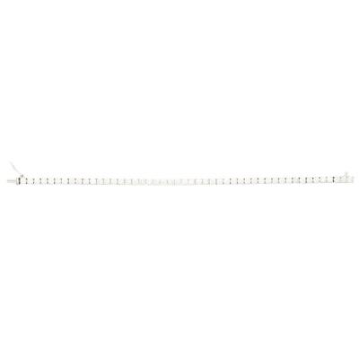 Lot 145 - A diamond set line bracelet