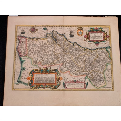 Lot 27-Collection of Maps, including Hondius the Elder, Jocodus (after Mercator)