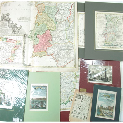 Lot 27 - Collection of Maps, including Hondius the Elder, Jocodus (after Mercator)