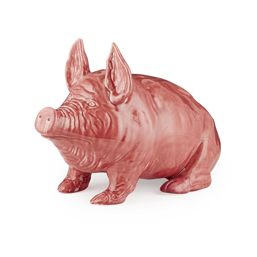 Lot 166-A LARGE WEMYSS WARE PIG