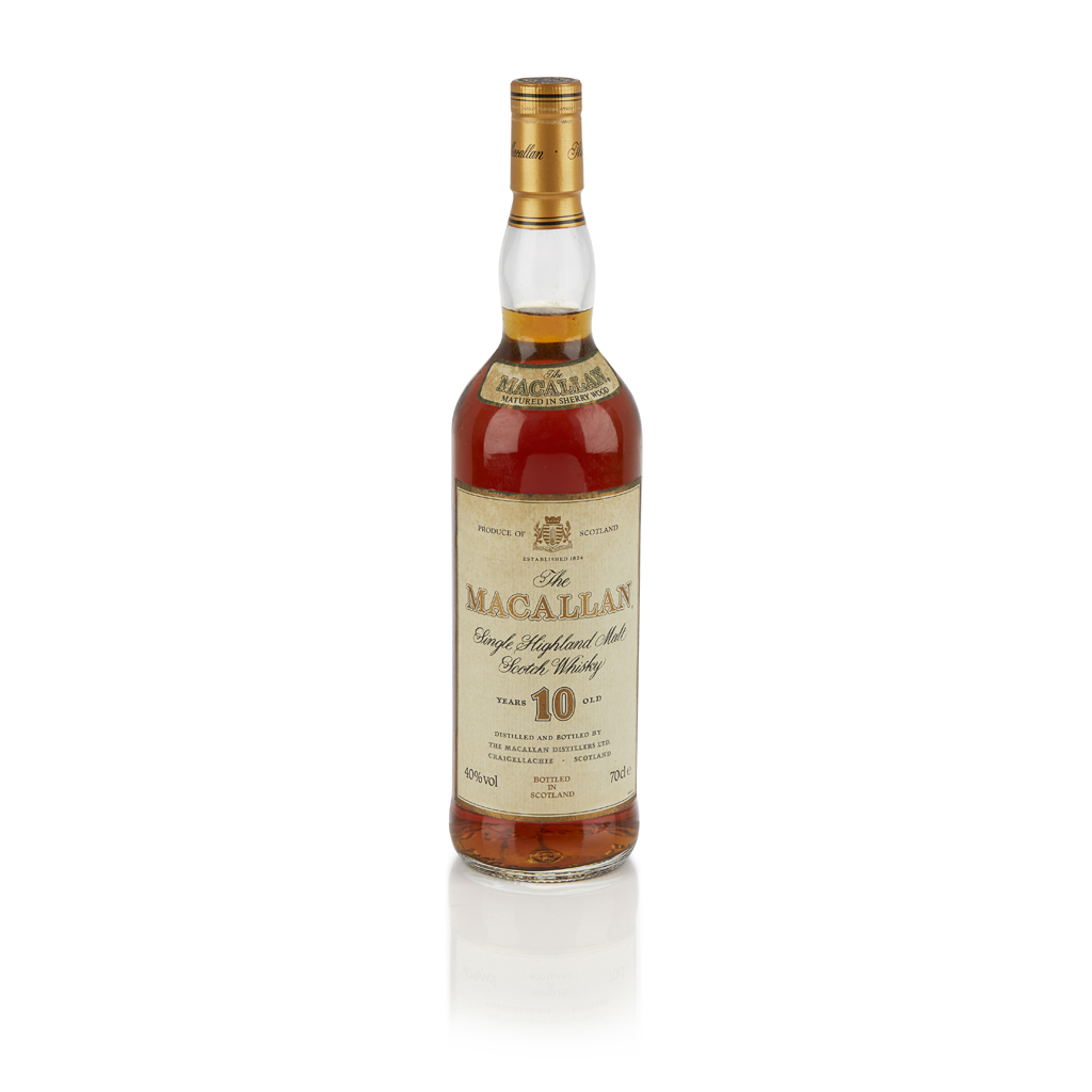 Lot 622-THE MACALLAN 10 YEAR OLD (1990S)