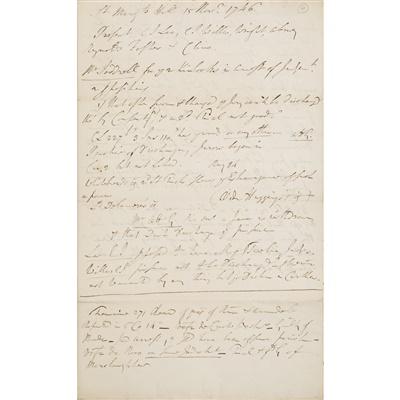 Lot 117 - JACOBITE TRIALS AT SOUTHWARK, 1746 - SIR JOHN STRANGE