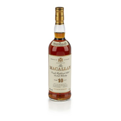 Lot 623-THE MACALLAN 10 YEAR OLD (1990S)