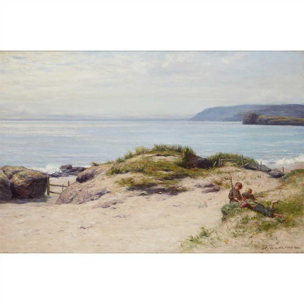 Lot 56-JOSEPH HENDERSON R.S.W. (SCOTTISH 1832-1908)