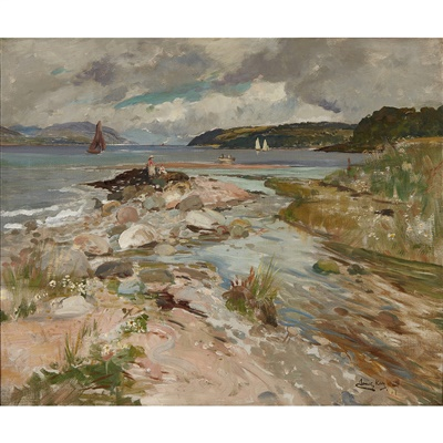 Lot 3 - JAMES KAY R.S.A., R.S.W. (SCOTTISH 1858-1942)