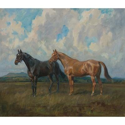 Lot 106 - LIONEL DALHOUSIE ROBERTSON EDWARDS R.I., R.C.A (BRITISH 1878-1966)