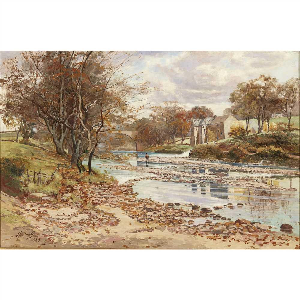 Lot 4-JOHN HAMILTON GLASS (SCOTTISH FL.1890-1925)