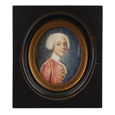 Lot 497 - A PORTRAIT MINIATURE OF HENRY BENEDICT AFTER JEAN-ETIENNE LIOTARD