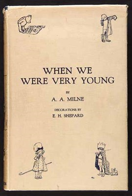 Lot 67 - MILNE [A.A.] When we were very young...with...