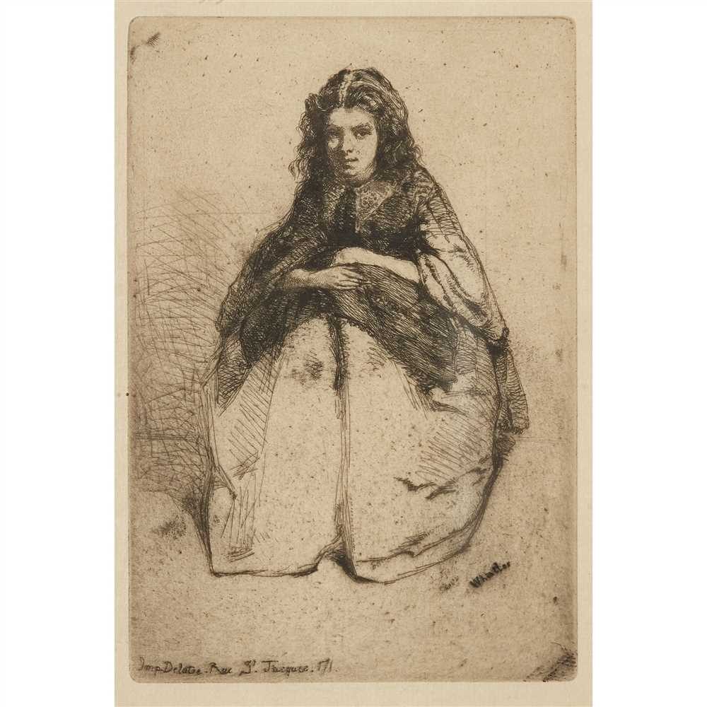 Lot 2-JAMES ABBOTT MCNEILL WHISTLER (AMERICAN 1834–1903)