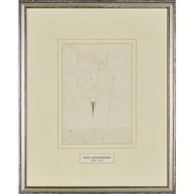 Lot 23-HENRI GAUDIER-BRZESKA (FRENCH 1891-1915)