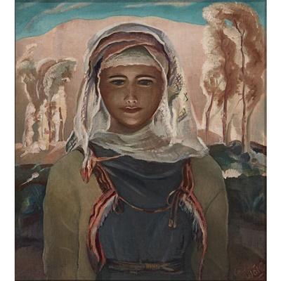 Lot 86 - Cecile Walton (Scottish 1891-1956)