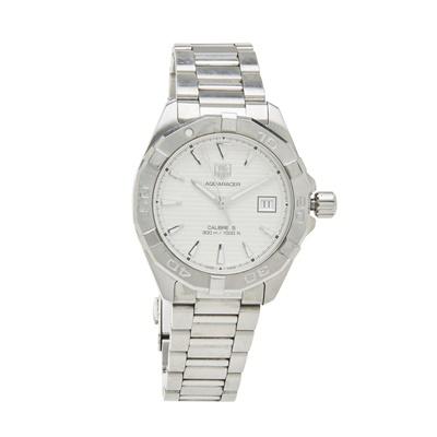 Lot 337 - A gentleman's stainless steel wrist watch, Tag Heuer