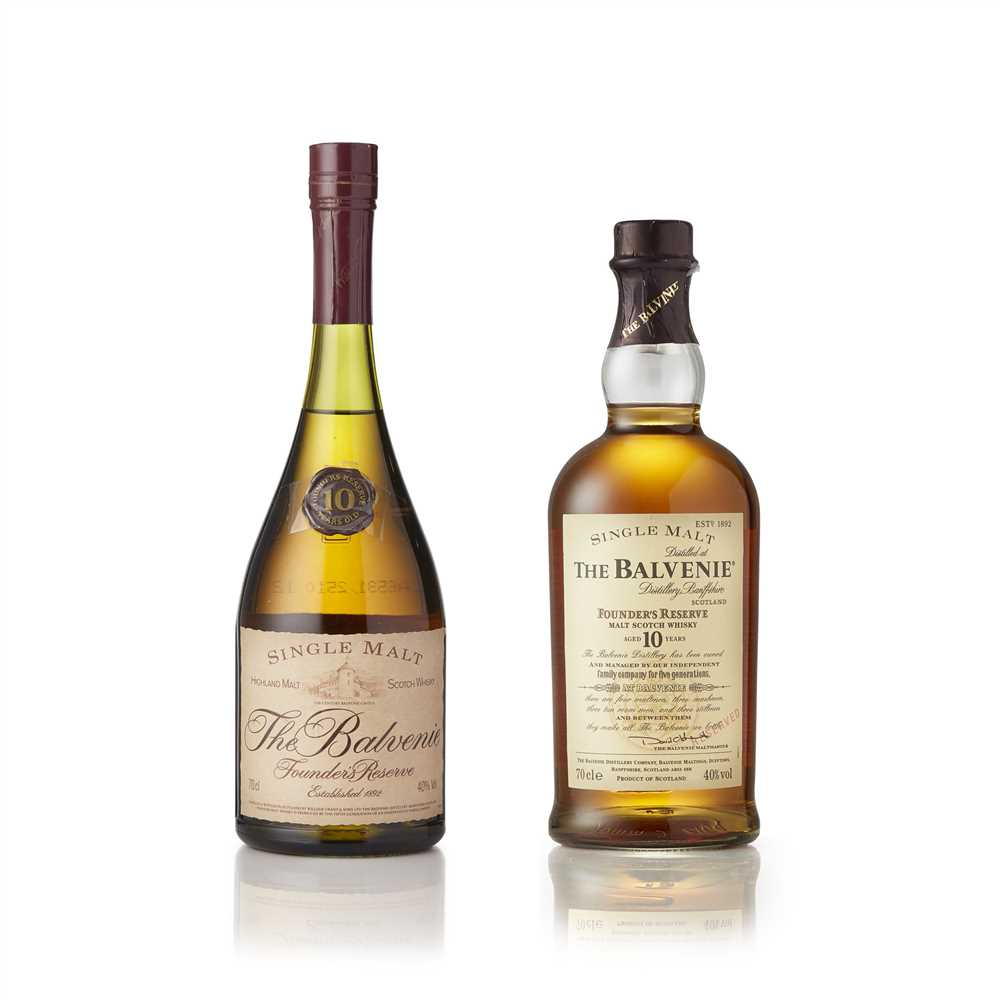 Lot 16-BALVENIE FOUNDER'S RESERVE 10 YEAR OLD