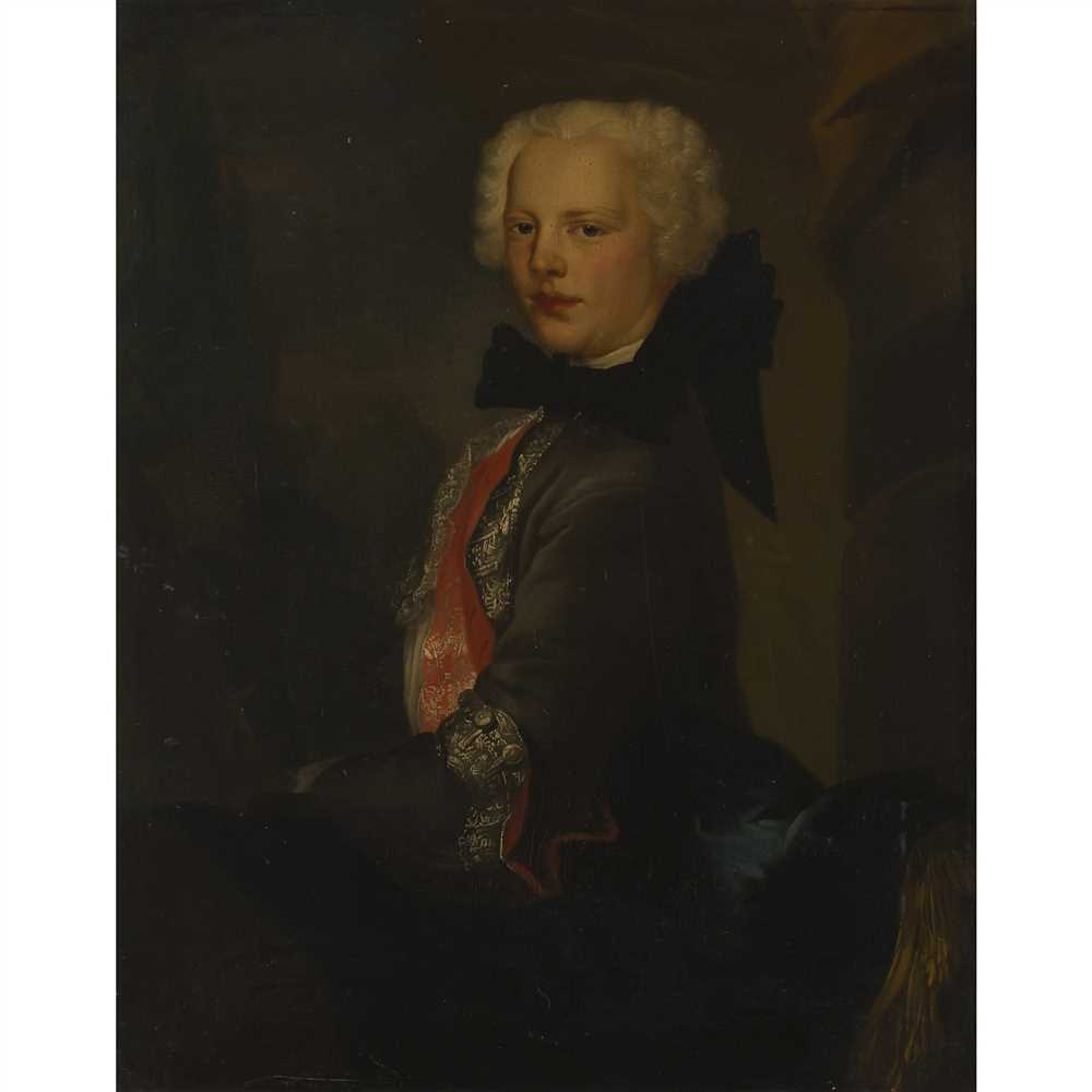 Lot 12-ATTRIBUTED TO LOUIS GABRIEL BLANCHET (FRENCH 1705-1772)