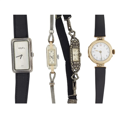 Lot 310 - A collection of four wrist watches