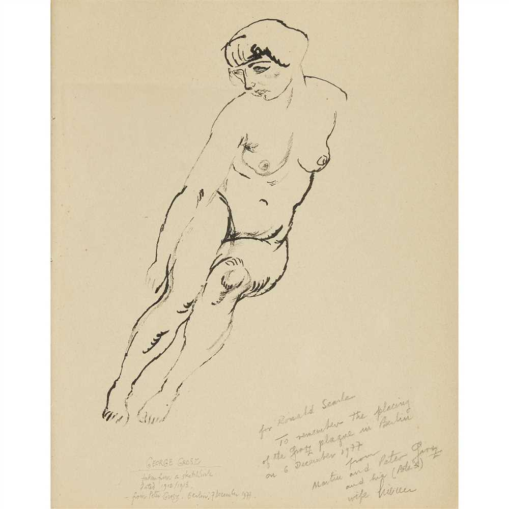 Lot 21-GEORGE GROSZ (GERMAN 1983-1959)