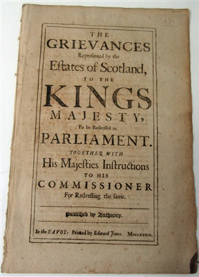 Lot 64-TRACTS, MAINLY SCOTTISH