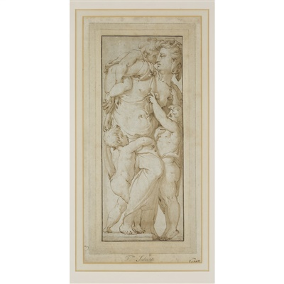 Lot 5-FOLLOWER OF FRANCESCO SALVIATI