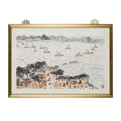 Lot 145 - FANG ZHAOLING (CHINESE 1914-2006)