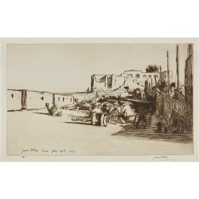 Lot 30-JAMES MCBEY (SCOTTISH 1883-1959)