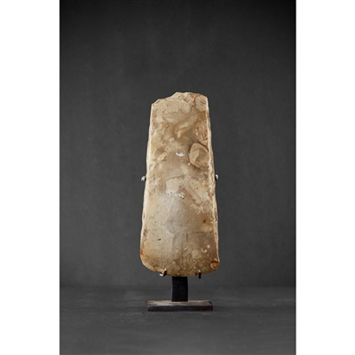 Lot 17-PAIR OF NEOLITHIC AXE HEADS