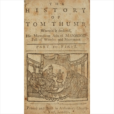 Lot 60-The History of Tom Thumb